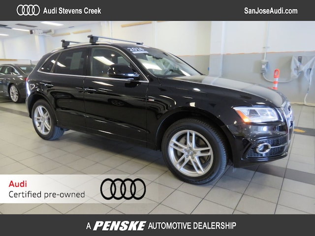Certified Pre-Owned 2016 Audi Q5 quattro  3.0T Premium Plus SUV for Sale in San Jose, CA