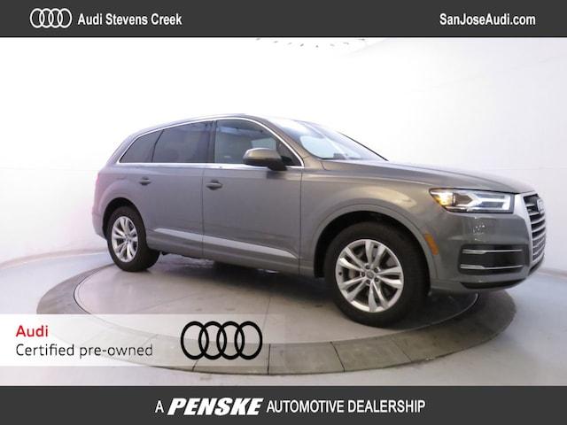 Used Vehicles for sale 2017 Audi Q7 2.0 TFSI Premium SUV in San Jose, CA