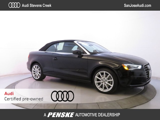 Certified Pre-Owned 2015 Audi A3 Cabriolet quattro 2.0T Premium Cabriolet for Sale in San Jose, CA