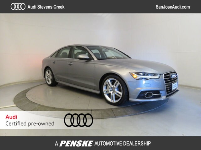 New 2016 Audi A6 quattro 3.0L TDI Premium Plus Sedan in San Jose, CA