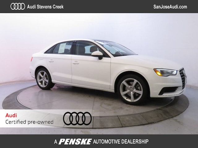 Used Vehicles for sale 2016 Audi A3 quattro 2.0T Premium Sedan in San Jose, CA