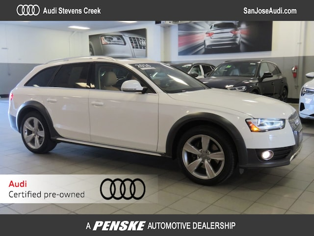 Certified Pre-Owned 2016 Audi A4 allroad Premium Wagon for Sale in San Jose, CA