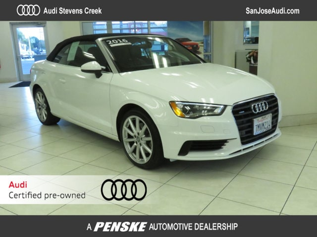 Certified Pre-Owned 2016 Audi A3 Cabriolet quattro 2.0T Premium Cabriolet for Sale in San Jose, CA