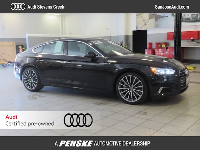 Certified Pre-Owned 2018 Audi A5 2.0 TFSI Premium Plus Sportback for Sale in San Jose, CA