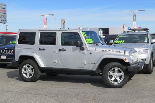 2012 Jeep Wrangler Unlimited Unlimited Rubicon SUV