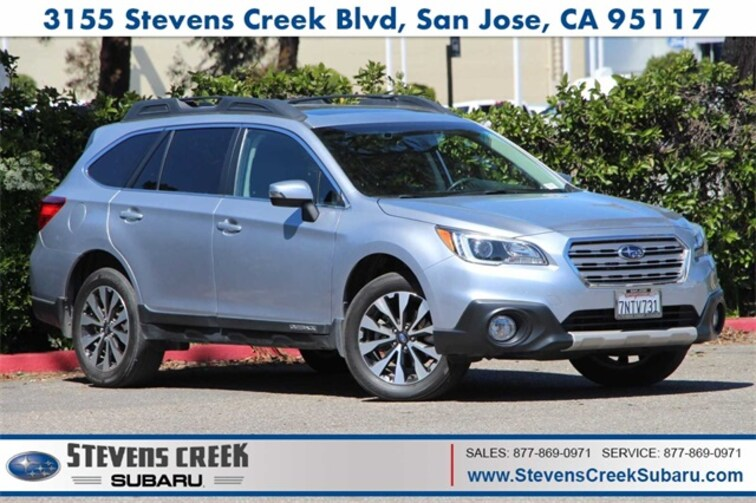 2016 Subaru Outback 2.5i Limited SUV for sale at Stevens Creek Subaru in San Jose, CA