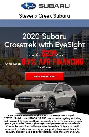 2020 Subaru Crosstrek with EyeSight