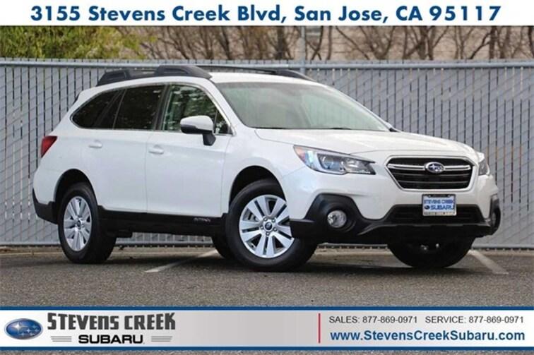 2018 Subaru Outback 2.5i Premium SUV for sale at Stevens Creek Subaru in San Jose, CA