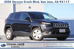 Used 2016 Jeep Cherokee Sport SUV 201068A for sale in San Jose, California at Stevens Creek Subaru