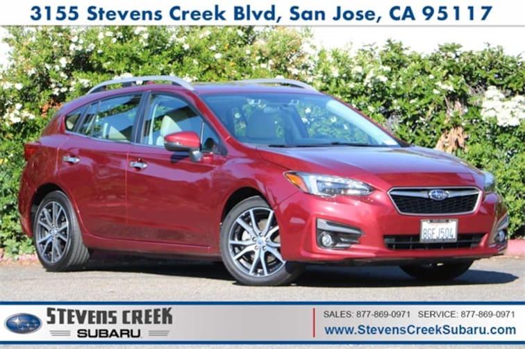 2017 Subaru Impreza 2.0i Limited Hatchback for sale at Stevens Creek Subaru in San Jose, CA