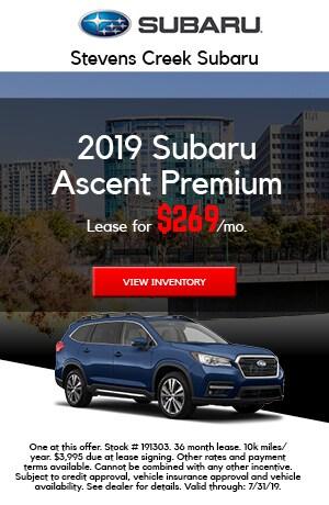 2019 Subaru Ascent - July
