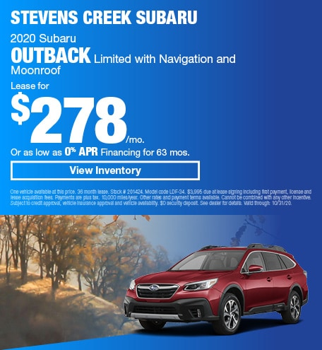 2020 Subaru Outback Limited with Navigation and Moonroof