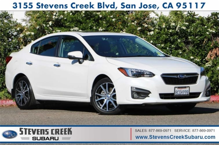 2017 Subaru Impreza 2.0i Limited Sedan for sale at Stevens Creek Subaru in San Jose, CA