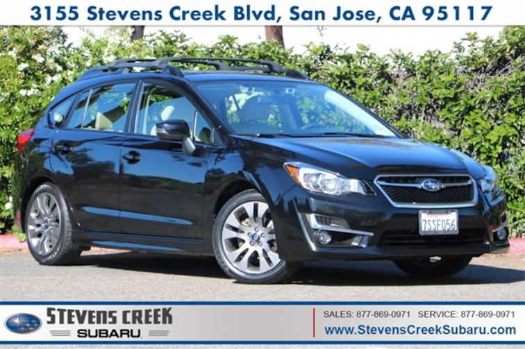 2016 Subaru Impreza 2.0i Sport Premium Hatchback for sale in San Jose, CA at Stevens Creek Subaru