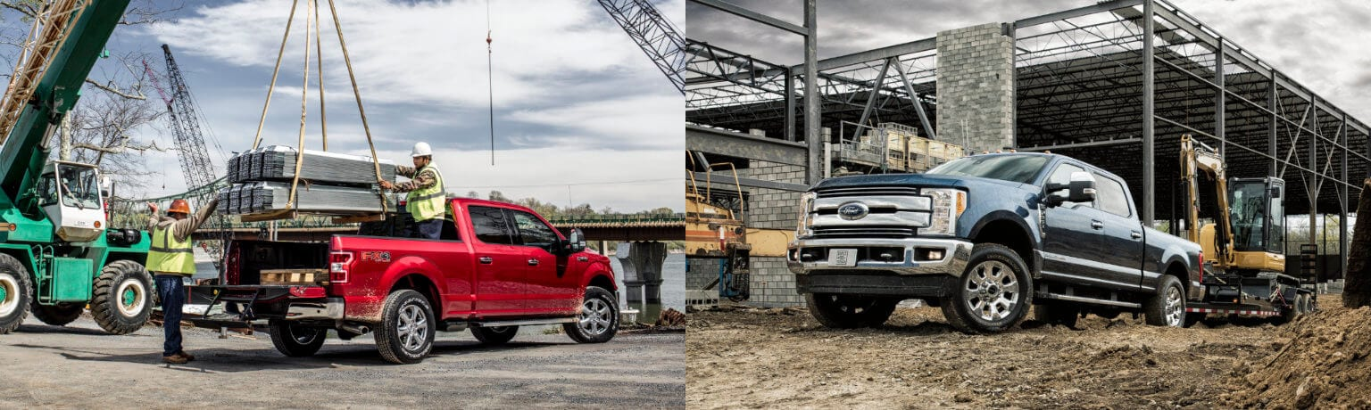 2019 Ford F-150 vs F-250 Performance