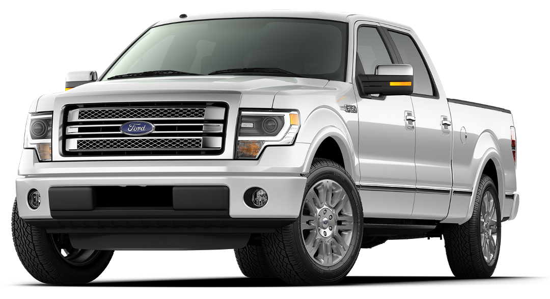 2014 Ford F-150 Platinum White