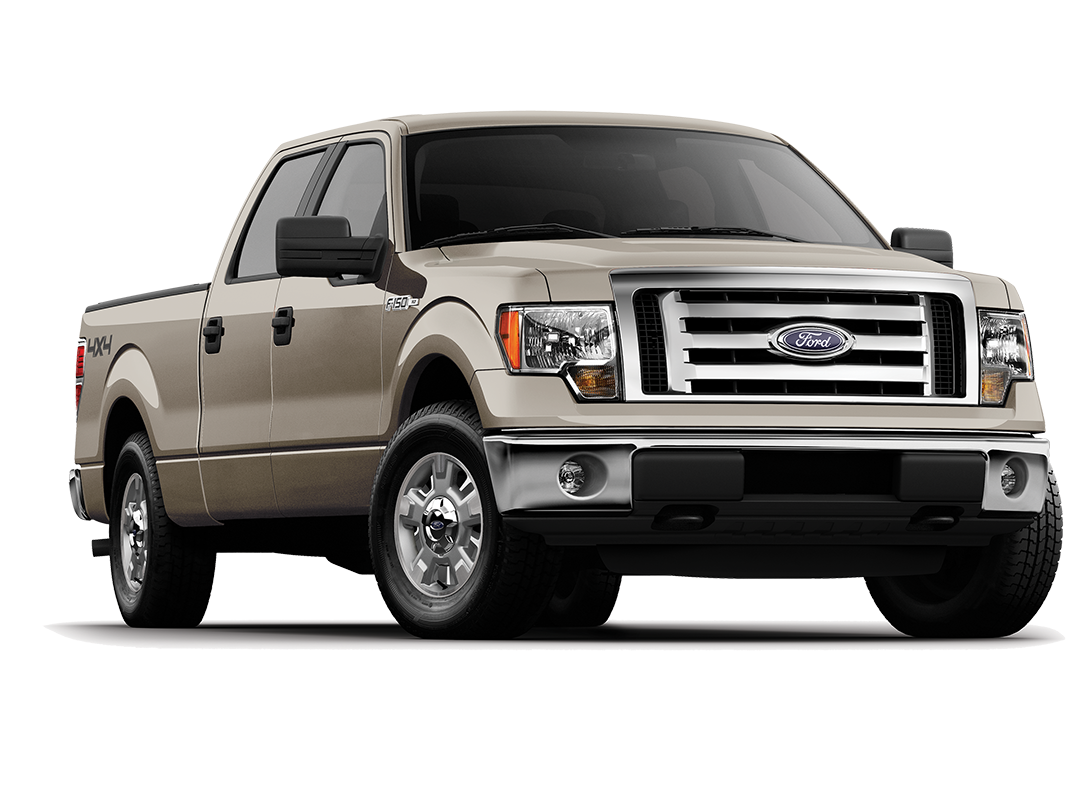 Brown 2012 Ford F-150 XLT