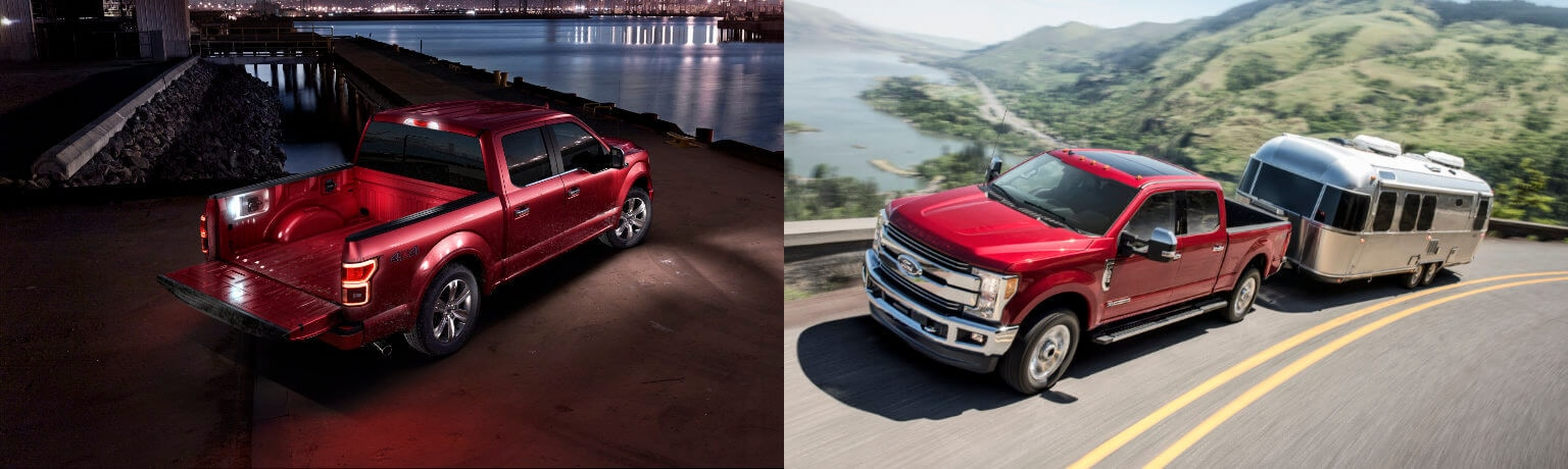 2019 Ford F-150 vs F-250 Exterior