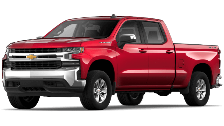 Red 2019 Chevy Silverado 1500