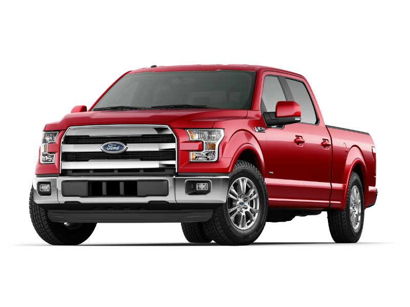 2015 Ford F-150 Lariat Red
