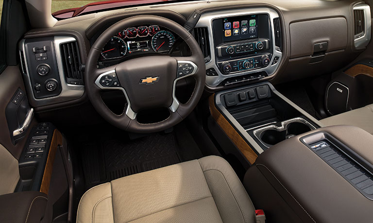 2019 Chevy Silverado Interior Dashboard Features