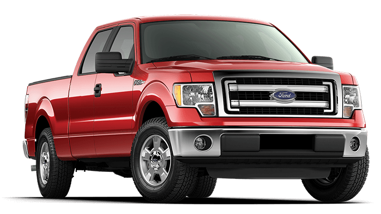 2013 Ford F-150 XLT Red