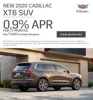 New 2021 Cadillac XT5 SUV - April