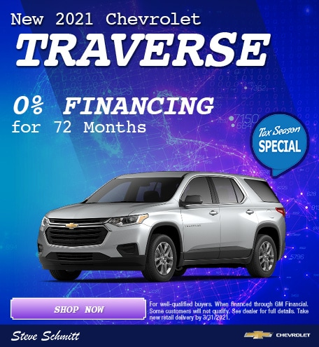 2021 Chevrolet Traverse - March Special