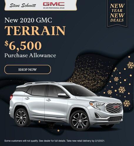 2020 GMC Terrain  - December Offer
