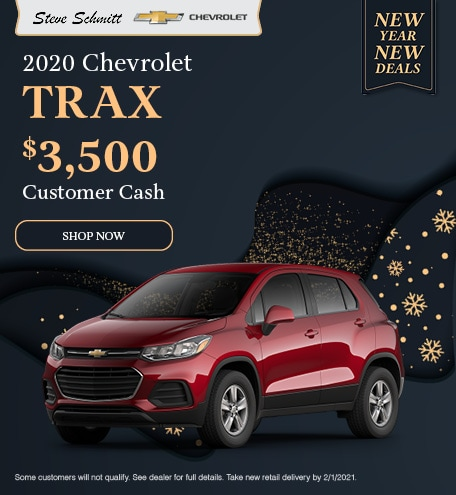 2020 Chevrolet Trax - January Offer