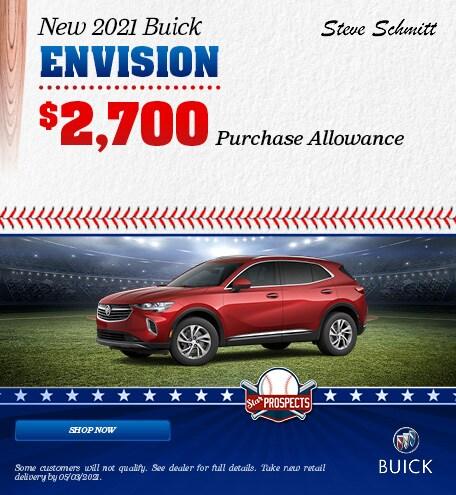 New 2021 Buick Envision - April