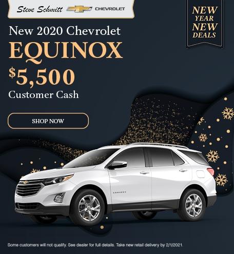 2020 Chevrolet Equinox - January Offer