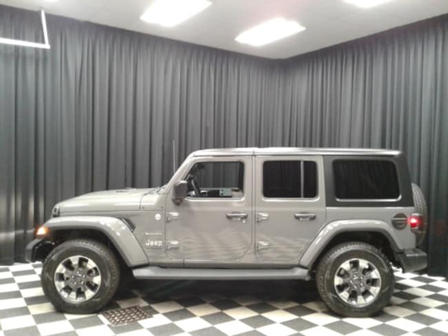 new 2018 jeep wrangler unlimited sahara 4x4 for sale in newton hickory nc. Black Bedroom Furniture Sets. Home Design Ideas
