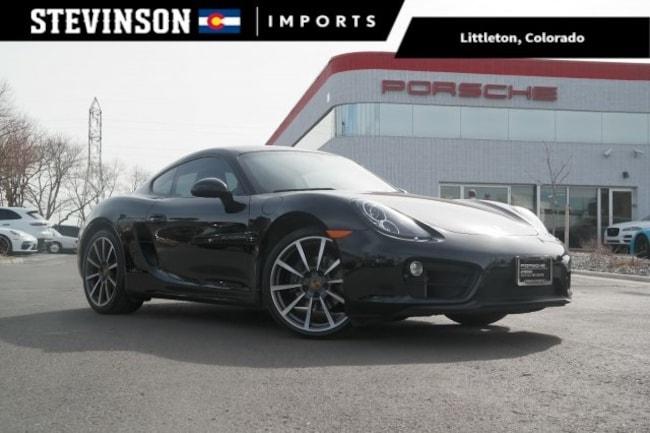 2016 Porsche Cayman Black Edition Coupe