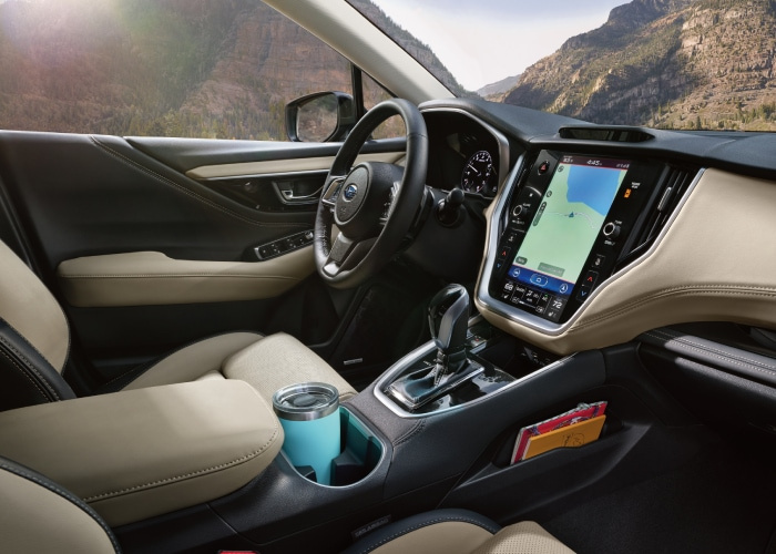 New Outback interior