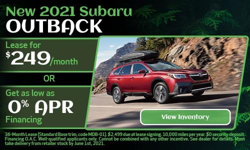 New 2021 Subaru Outback