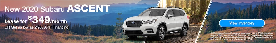 2020 Subaru Ascent - September
