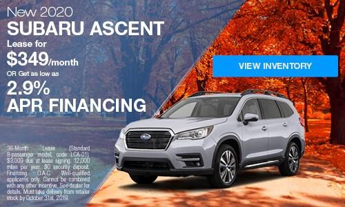 2020 Subaru Ascent - October