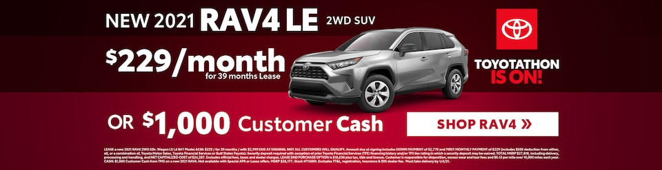 New 2021 Toyota RAV4 Sale