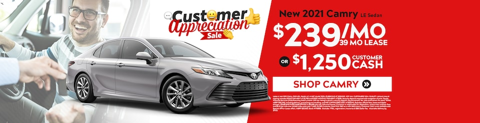 New 2021 Toyota Camry Sale