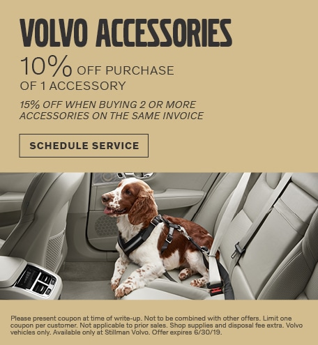 May | 10% Off Volvo Accessories