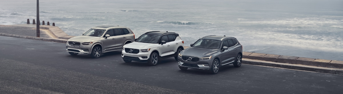 New 2020 Volvo SUV Lineup by the seaside