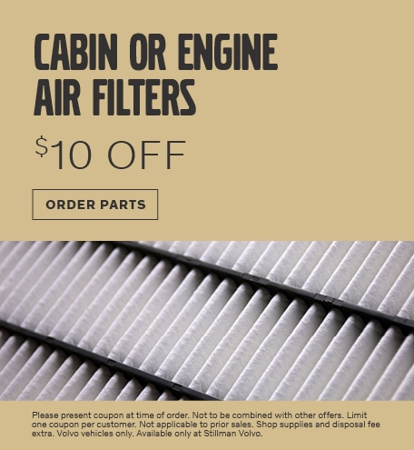 July | Cabin or Engine Air Filters