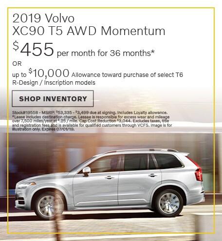 June | 2019 Volvo XC90