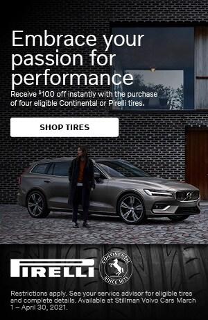 Volvo Tire Rebate Offer