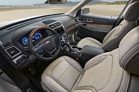 2017 Ford Explorer Platinum Interior