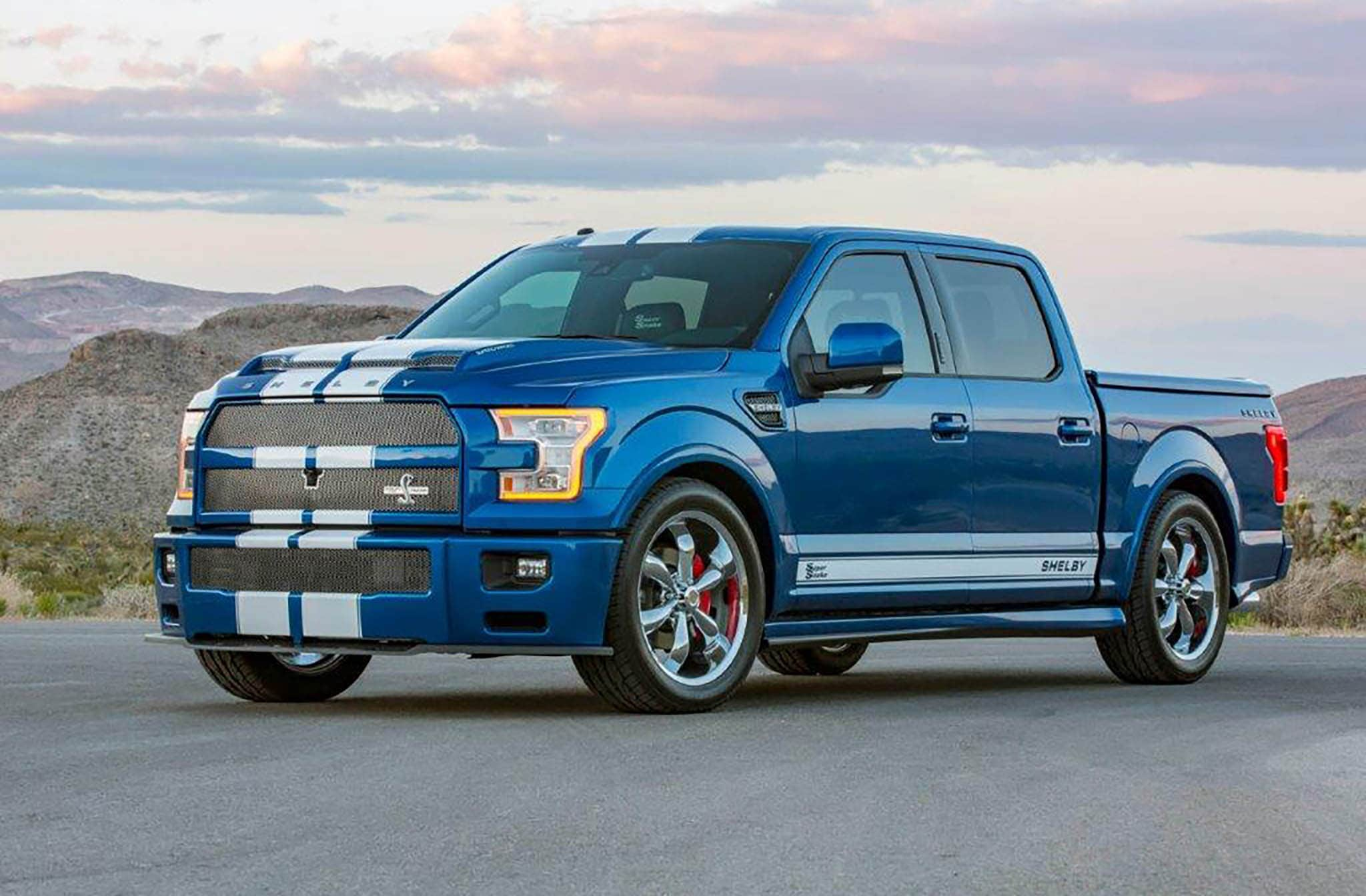 2017 shelby f 150 wide body super snake truck