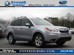 Certified Pre-owned 2016 Subaru Forester 2.5i Limited SUV for sale in Decatur, GA