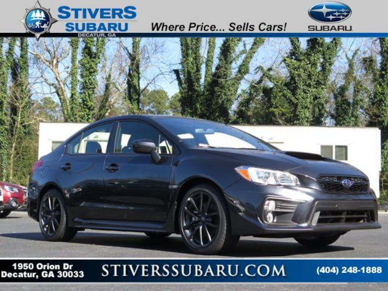 New 2019 Subaru WRX Premium (M6) Sedan for sale or lease in Decatur, GA