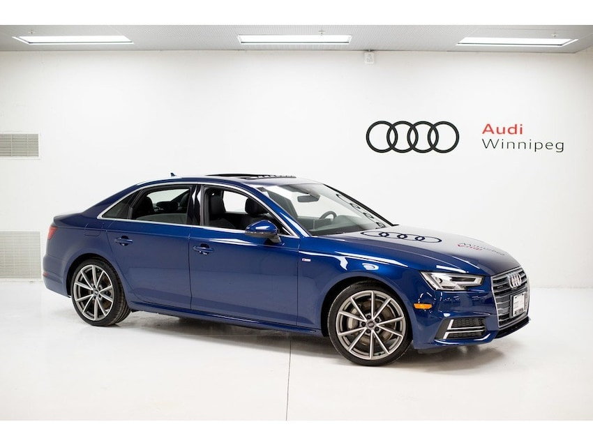 New 2018 Audi A4 20t Technik In Winnipeg Mb S18832891 V